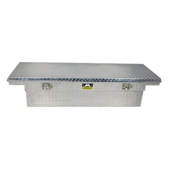 Unique Truck Accessories® - Low Profile Wide Single Lid Crossover Tool Box