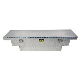 Unique Truck Accessories® - Brute Low Profile Wide Stair Notches Single Lid Crossover Tool Box