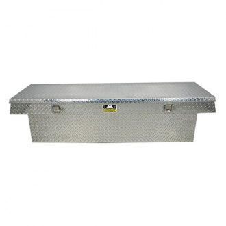 Unique Truck Accessories® - Deep Wide Single Lid Crossover Tool Box