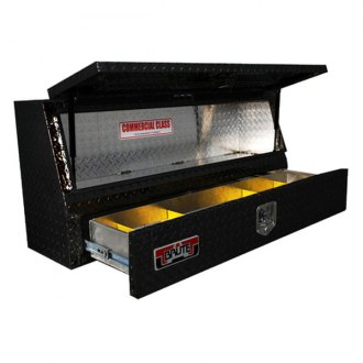 Unique Truck Accessories® - Brute™ Contractor Single Door with Drawer TopSider Tool Box