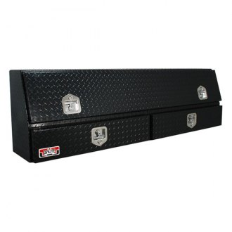 Unique Truck Accessories® - Brute™ Contractor Single Door with Drawers TopSider Tool Box