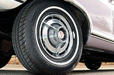 UNIROYAL® - TIGER PAW AWP II Tires on Chevy Nova Super Sport