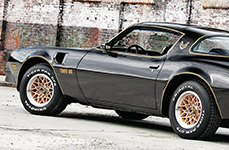 UNIROYAL® - TIGER PAW CTS Tires on Pontiac Firebird Trans Am