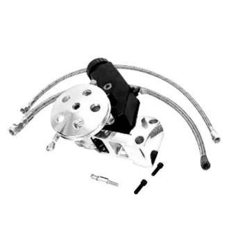 Unisteer® - Polished Short Water Pump Kit with Clip-on Reservoir