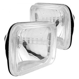 United Pacific® - Rectangular Crystal Sealed Beam Headlights