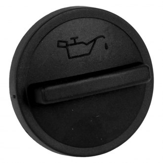 URO Parts® - Plastic Round Oil Filler Cap