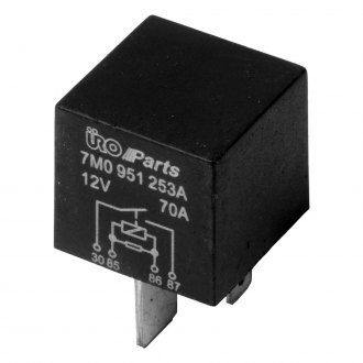 URO Parts® - Auxiliary Fan Relay