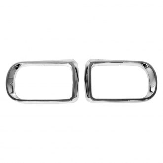 URO Parts® - Chrome Mirror Trim Rings