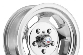 "U.S. MAGS® - INDY Polished (15"" x 8"", +1 Offset, 5x120.65 Bolt Pattern, 72.6mm Hub)"