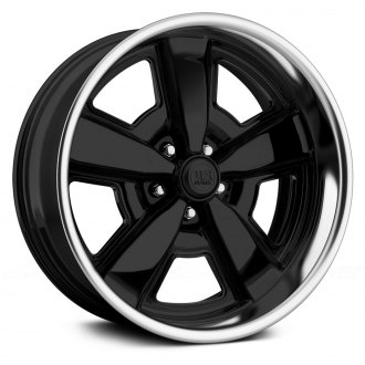 U.S. MAGS® - MALIBU Gloss Black with Polished Lip