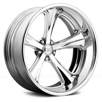 U.S. MAGS® - U514 MILNER Concave 3PC Forged Bolted Custom Paint