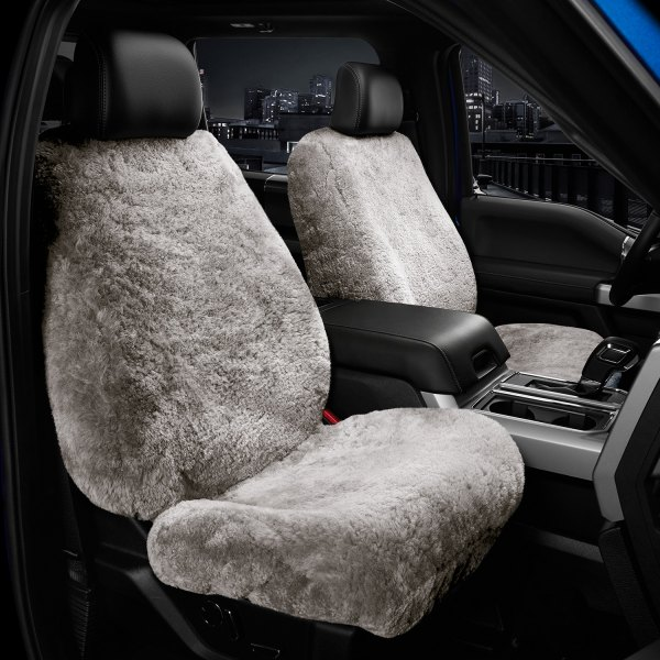 Black Grey Leather Car Seat Covers Cover Set For Mazda Tribute 2001-2004