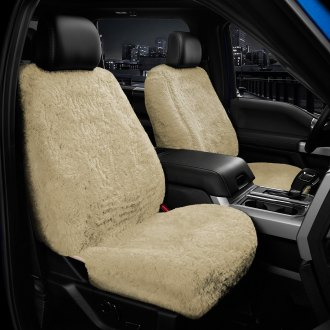 US Sheepskin® - Tailor-Made All Acrylic 1st Row Camel Seat Cover