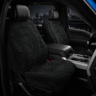 US Sheepskin® - Tailor-Made All Acrylic 1st Row Black Seat Cover