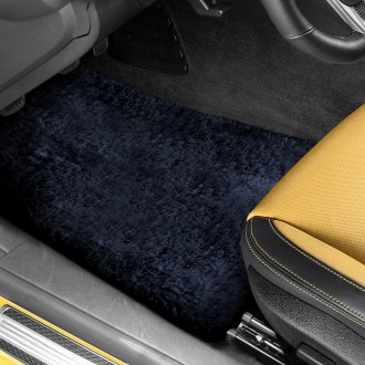 US Sheepskin® - Tailor-Made Sheepskin 1st & 2nd Row Blue Floor Mats