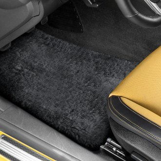 US Sheepskin® - Tailor-Made Sheepskin 1st & 2nd Row Charcoal Floor Mats