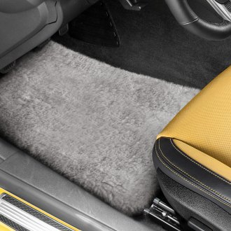 US Sheepskin® - Tailor-Made Sheepskin 1st & 2nd Row Pearl Floor Mats