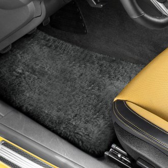 US Sheepskin® - Tailor-Made Sheepskin 1st & 2nd Row Pewter Floor Mats