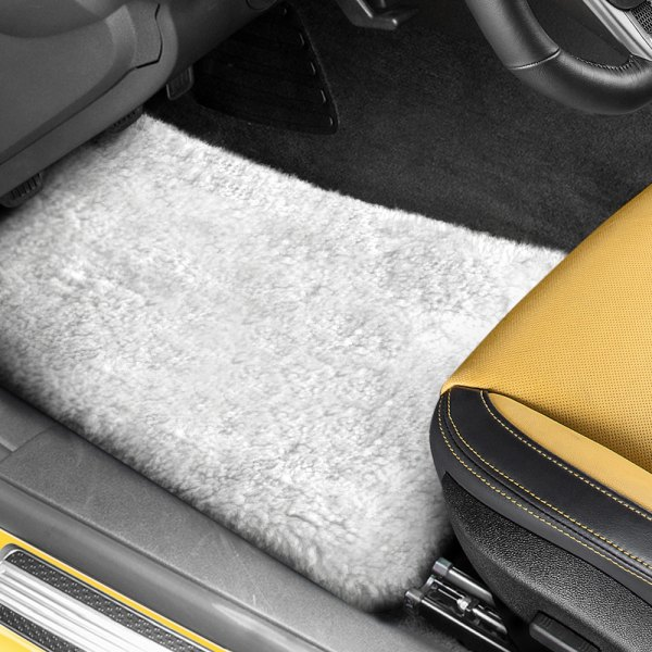 US Sheepskin® - Tailor-Made Sheepskin White Floor Mats
