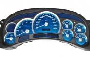 US Speedo® - Replacement Cluster with Aqua Edition Gauge Face Kit