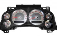 US Speedo® - Replacement Cluster with Stainless Steel Gauge Face Kit