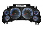 US Speedo® - Daytona Edition Blue Gauge Face Kit