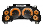 US Speedo® - Daytona Edition Orange Gauge Face Kit