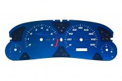 US Speedo® - Aqua Edition Gauge Face Kit, 160 MPH