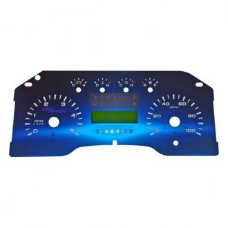 US Speedo® - Aqua Edition Gauge Face Kit, 100 MPH