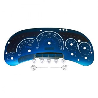 US Speedo® - Aqua Edition Gauge Face Kit, 120 MPH