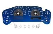 US Speedo� - Aqua Edition Gauge Face Kit