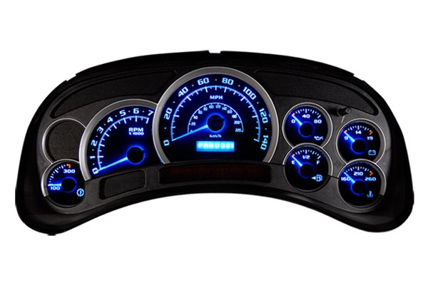 US Speedo® - Surface-Mount Blue LED Bulbs - Installed