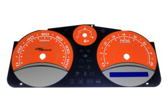 US Speedo® COB069 - Daytona Edition Orange Gauge Face Kit