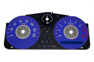 US Speedo® GC140074 - Daytona Edition Blue Gauge Face Kit