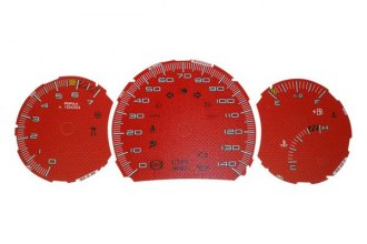 US Speedo® GP085 - Daytona Edition Red Gauge Face Kit