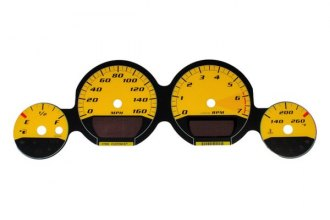 US Speedo® MAG083 - Daytona Edition Yellow Gauge Face Kit