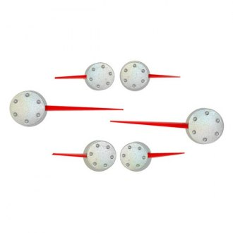 US Speedo® - Speedometer Red Needle Kit with Satin Hub