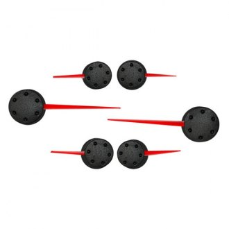 US Speedo® - Speedometer Red Needle Kit with Black Hub