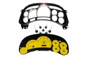 US Speedo® - Escalade Yellow Gauge Face Kit