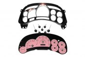 US Speedo® - Escalade Pink Gauge Face Kit