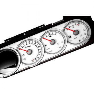 US Speedo® - Daytona Edition White Gauge Face Kit with Amber Night Lettering Color