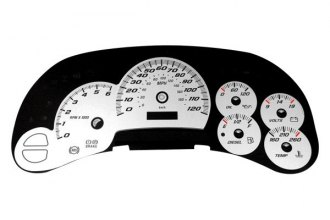 US Speedo® SS1200530 - Daytona Edition White Gauge Face Kit