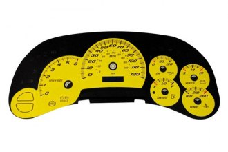 US Speedo® SS1200533 - Daytona Edition Yellow Gauge Face Kit