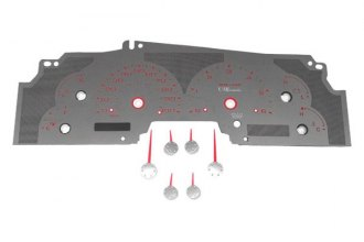US Speedo® - Stainless Steel Gauge Face Kit