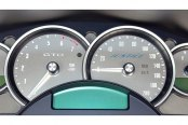 US Speedo® - Stainless Steel White Night Gauge Face Kit