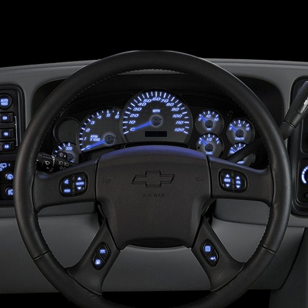 US Speedo® - Steering Wheel Blue LED Bulbs