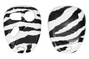 US Speedo® - Zebra Print Designer Key Fob Case (3 Buttons)