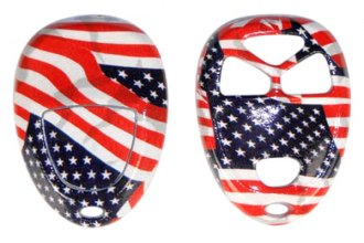 US Speedo® 11041704 - American Flag Designer Key Fob Case (4 Buttons)