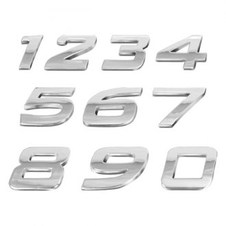 3D Chrome Letters™ -  Numbers