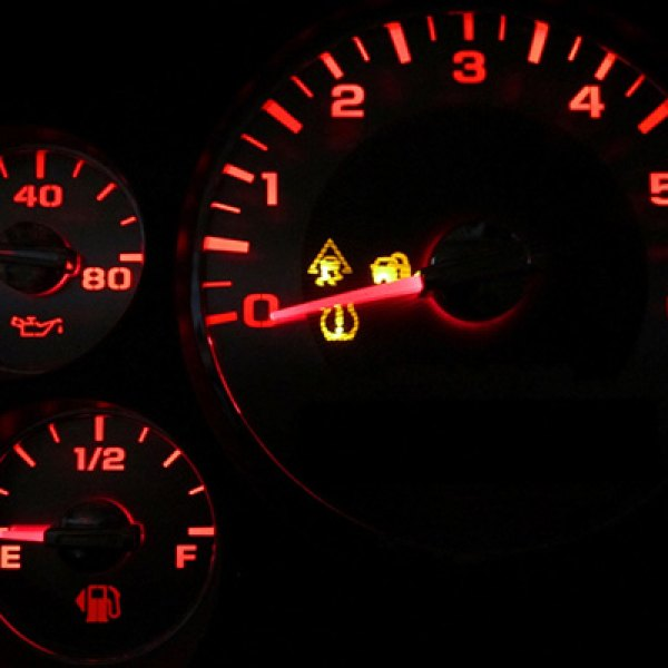 US Speedo® - Red Gauge LED Lighting Kit